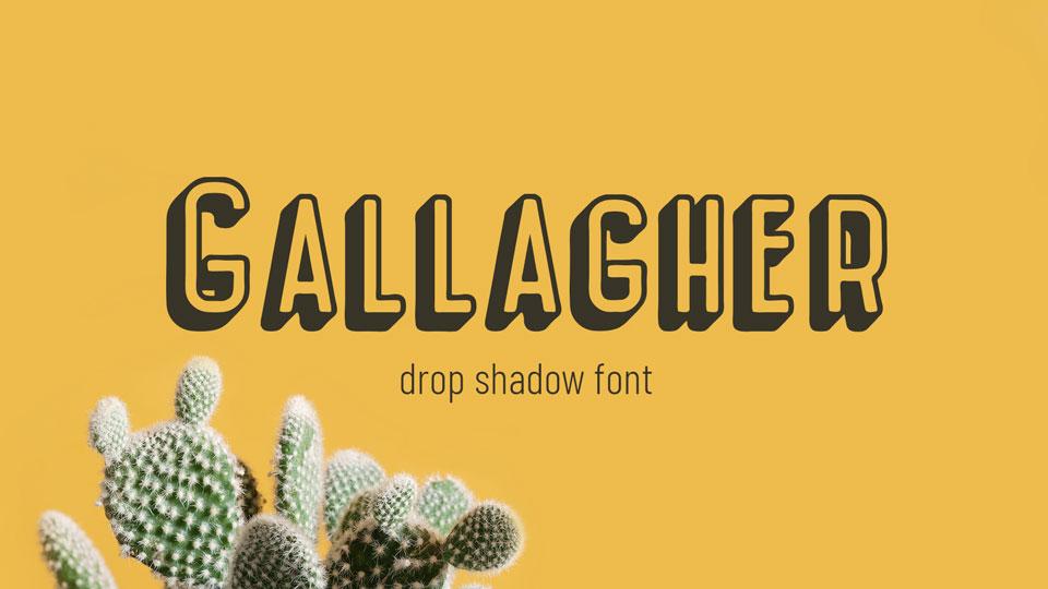 Gallagher Fancy Font-1