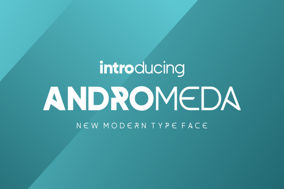 Andromeda Typeface