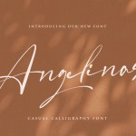 Angelinas Calligraphy Font