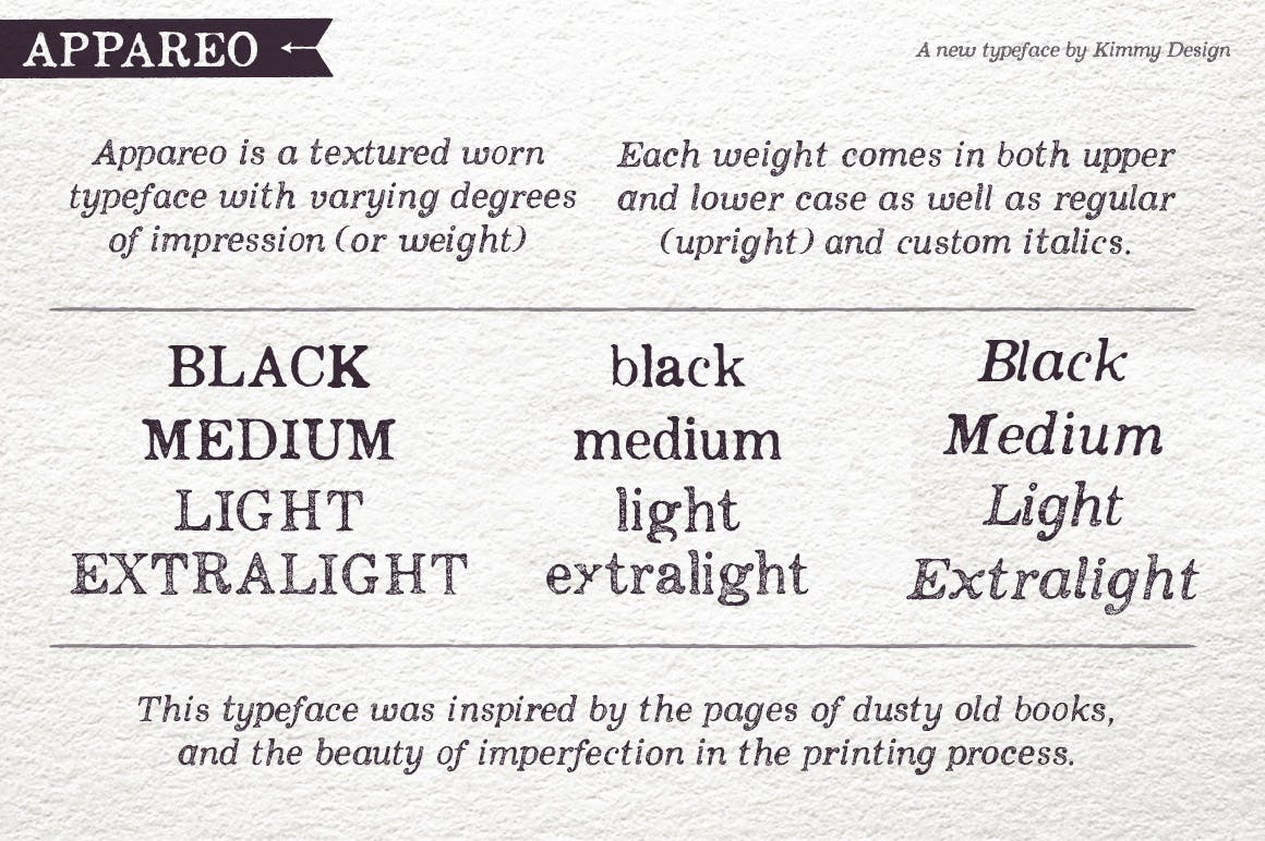 Appareo Extras Decorative Font-3