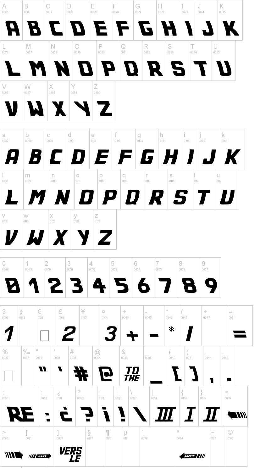 Back to the Future 2002 Font-2