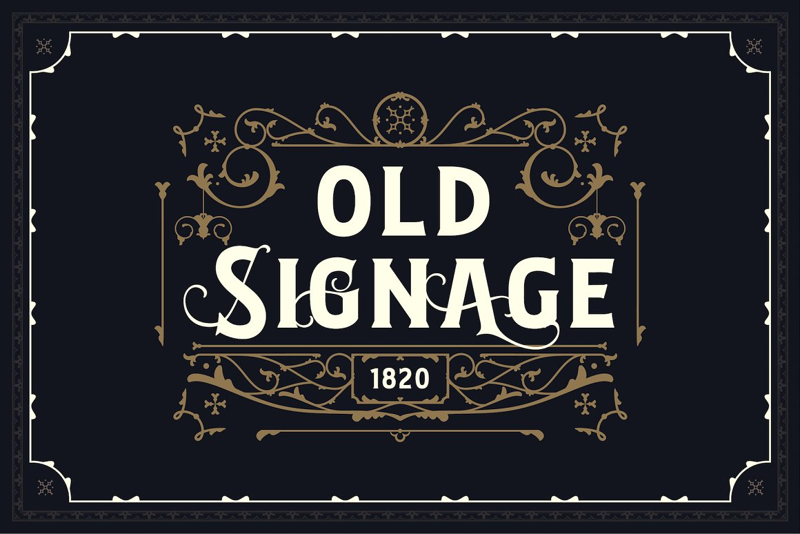 Bignord Vintage Serif Typeface-2