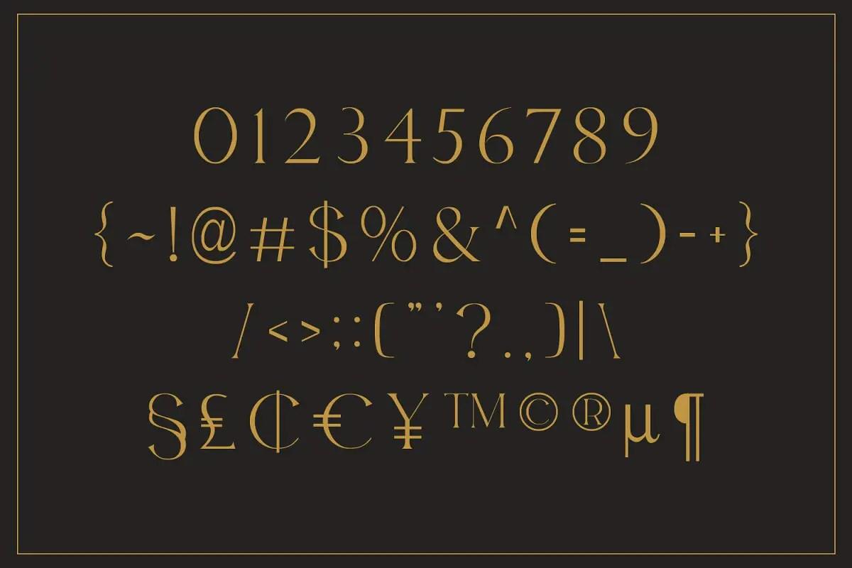 Bolin Gerii Luxury Serif Font-3