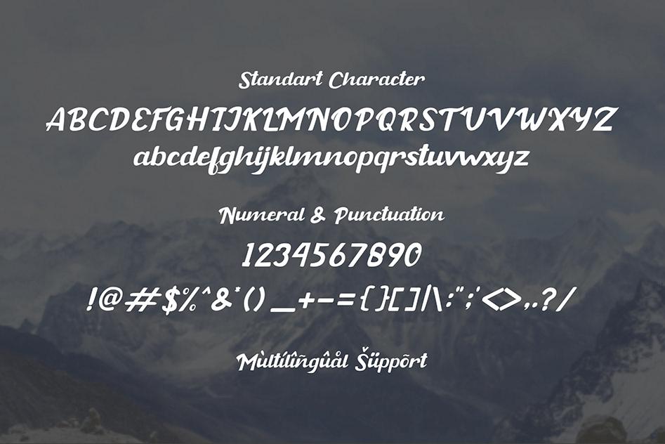 Buckey Bold Script Font-3