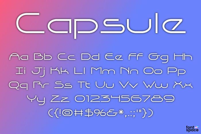 Capsule Sans Serif Font-2