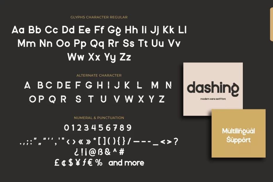 Dashing Modern Sans Serif Font-3