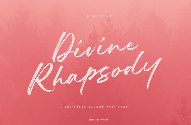 Divine Rhapsody Font