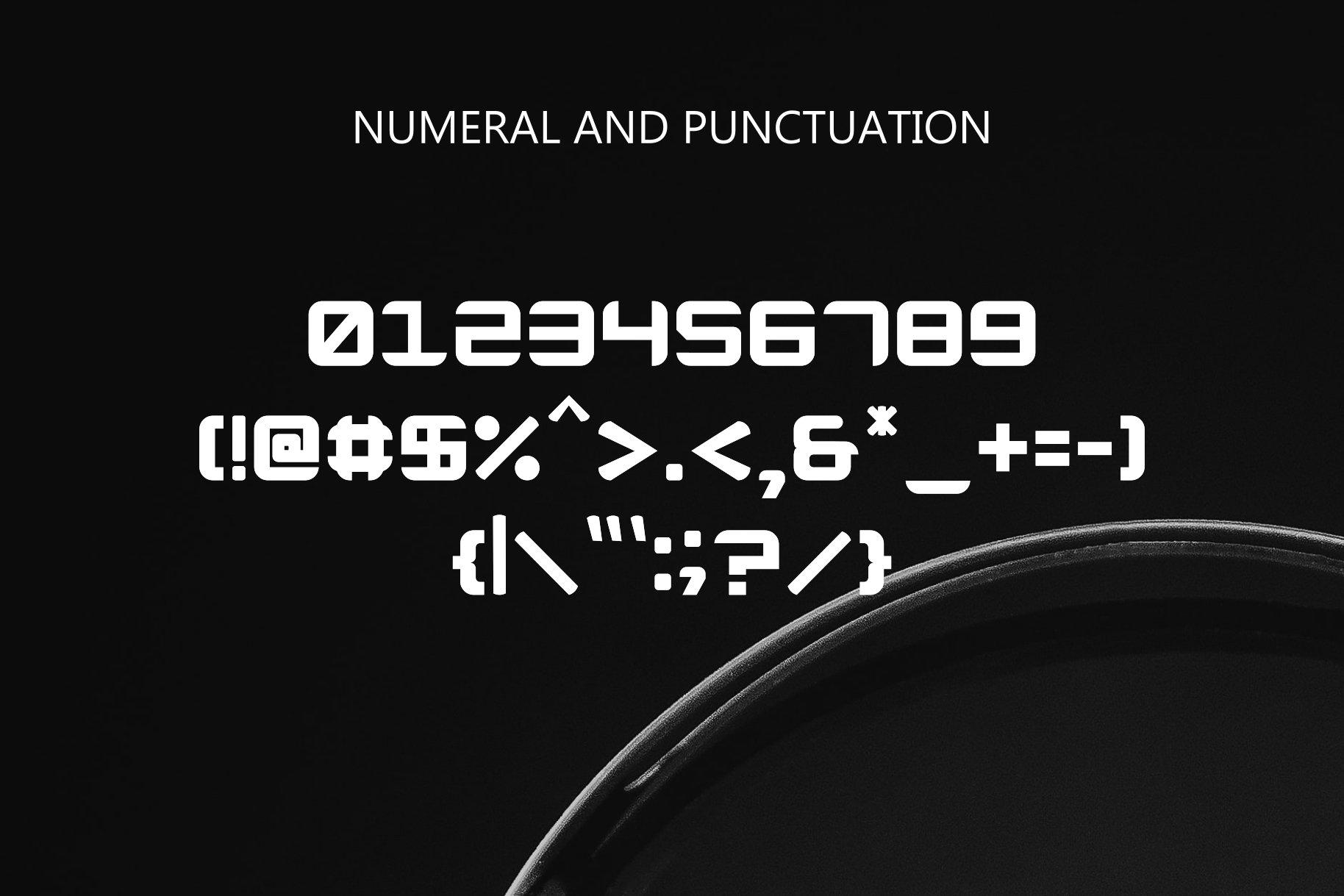 Expanse Display Font-4