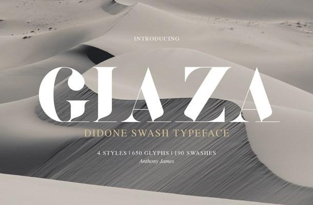 Giaza Typeface