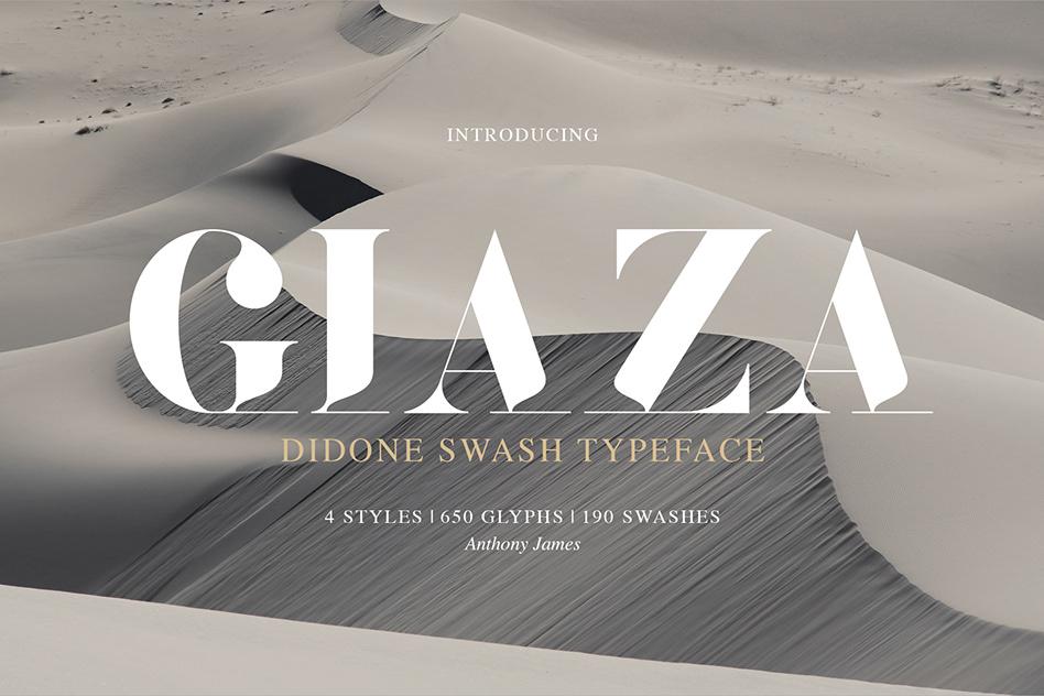 Giaza Serif Typeface-1