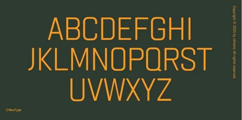 Gridink Sans Serif Font-2
