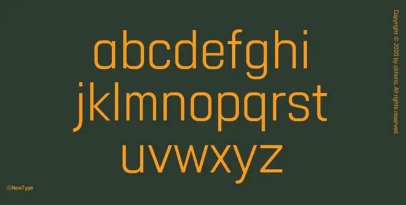 Gridink Sans Serif Font-3