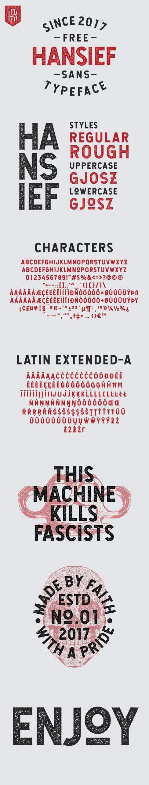 Hansief Sans Serif Typeface-2