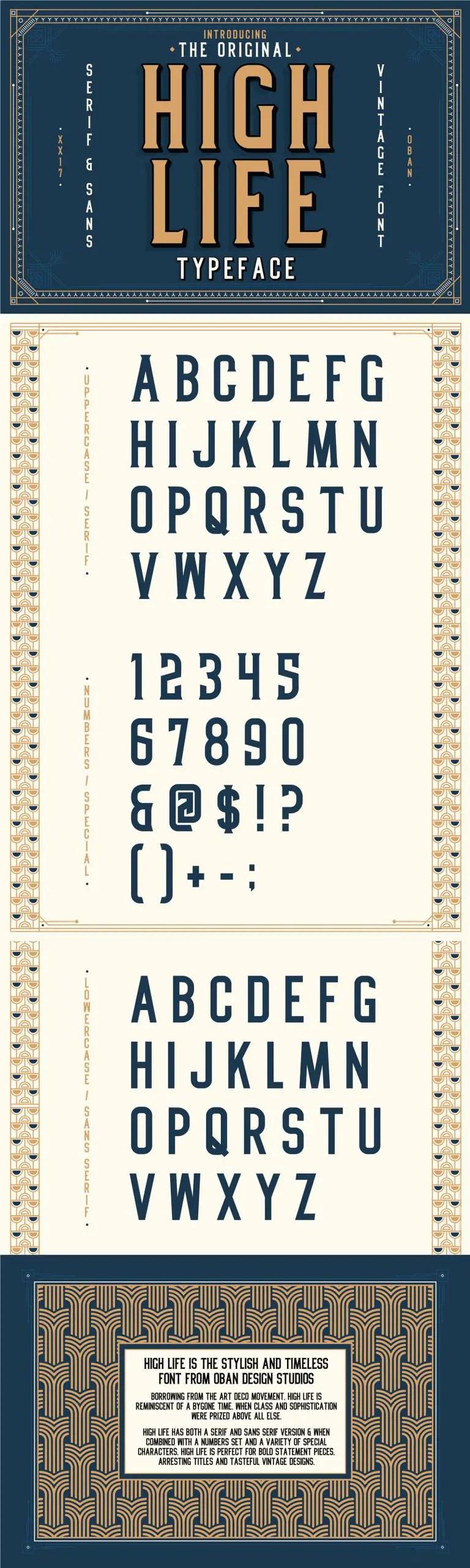 High Life Serif Typeface-1