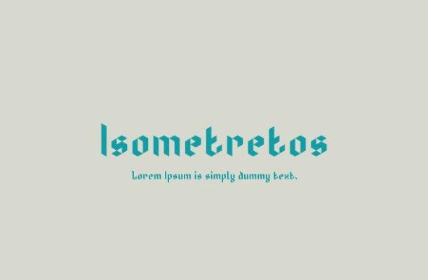 Isometretos Font