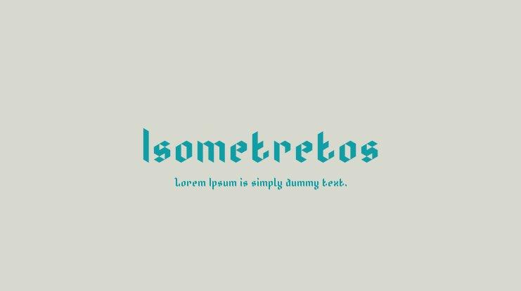 Isometretos Font-1