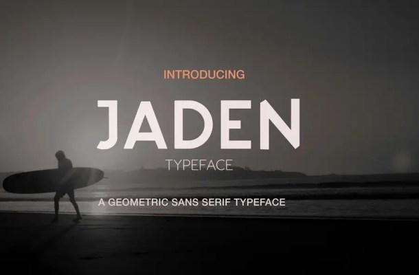 Jaden Sans Serif Typeface