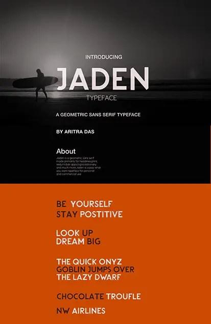 Jaden Sans Serif Typeface-1