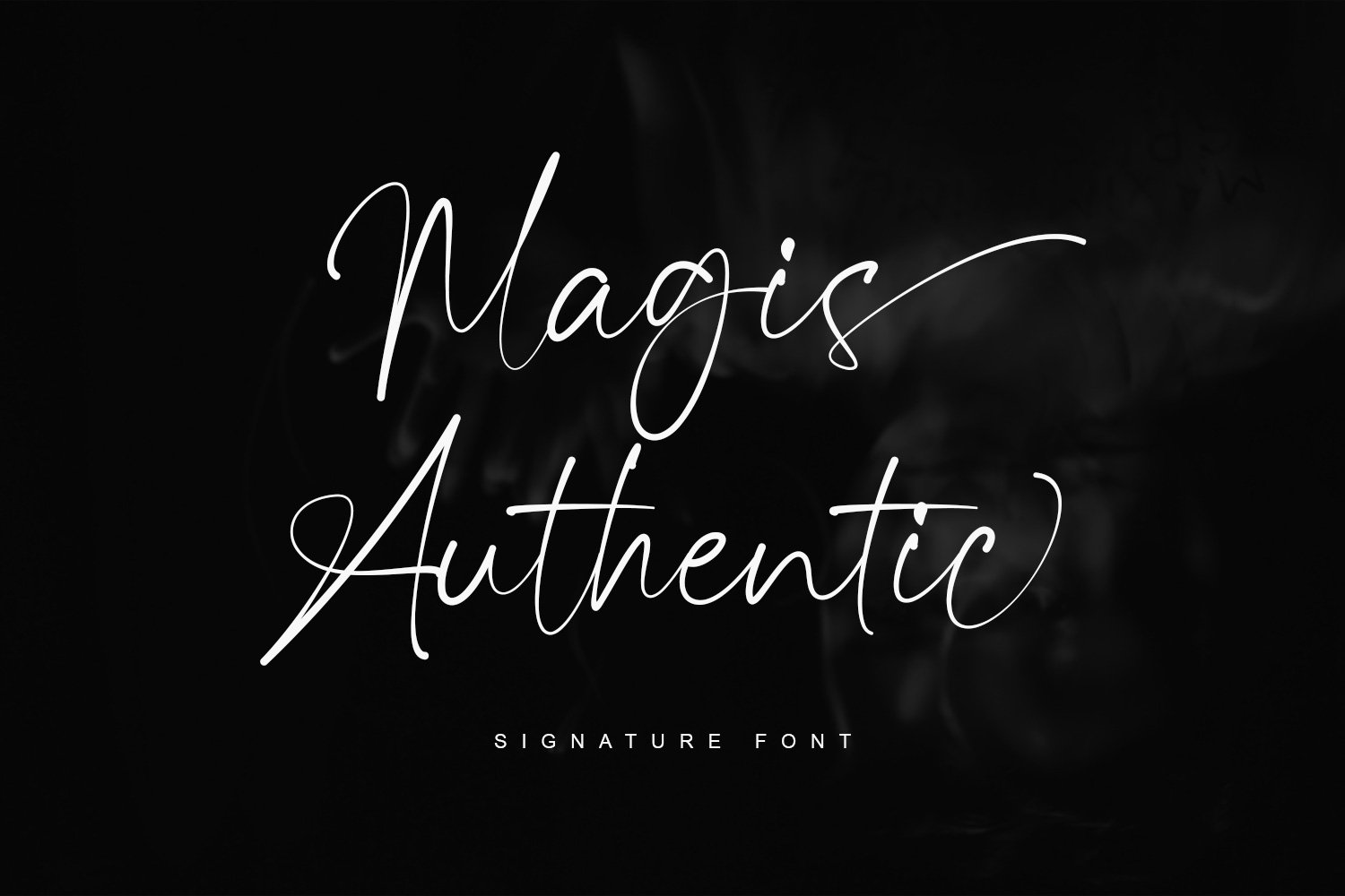 Magis Authentic Signature Font-1
