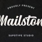 Mailston Script Font