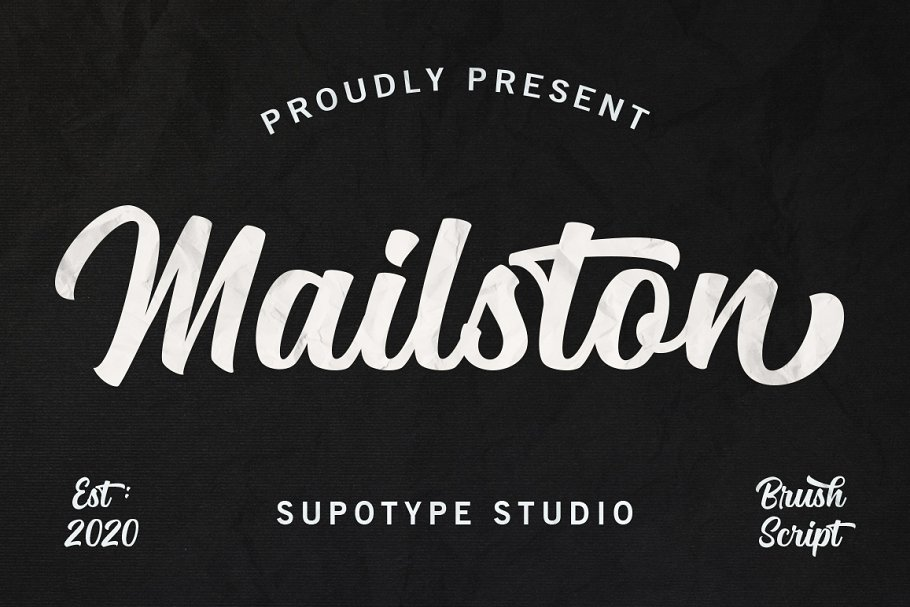 Mailston Modern Script Font-1