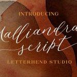Malliandra Script Font