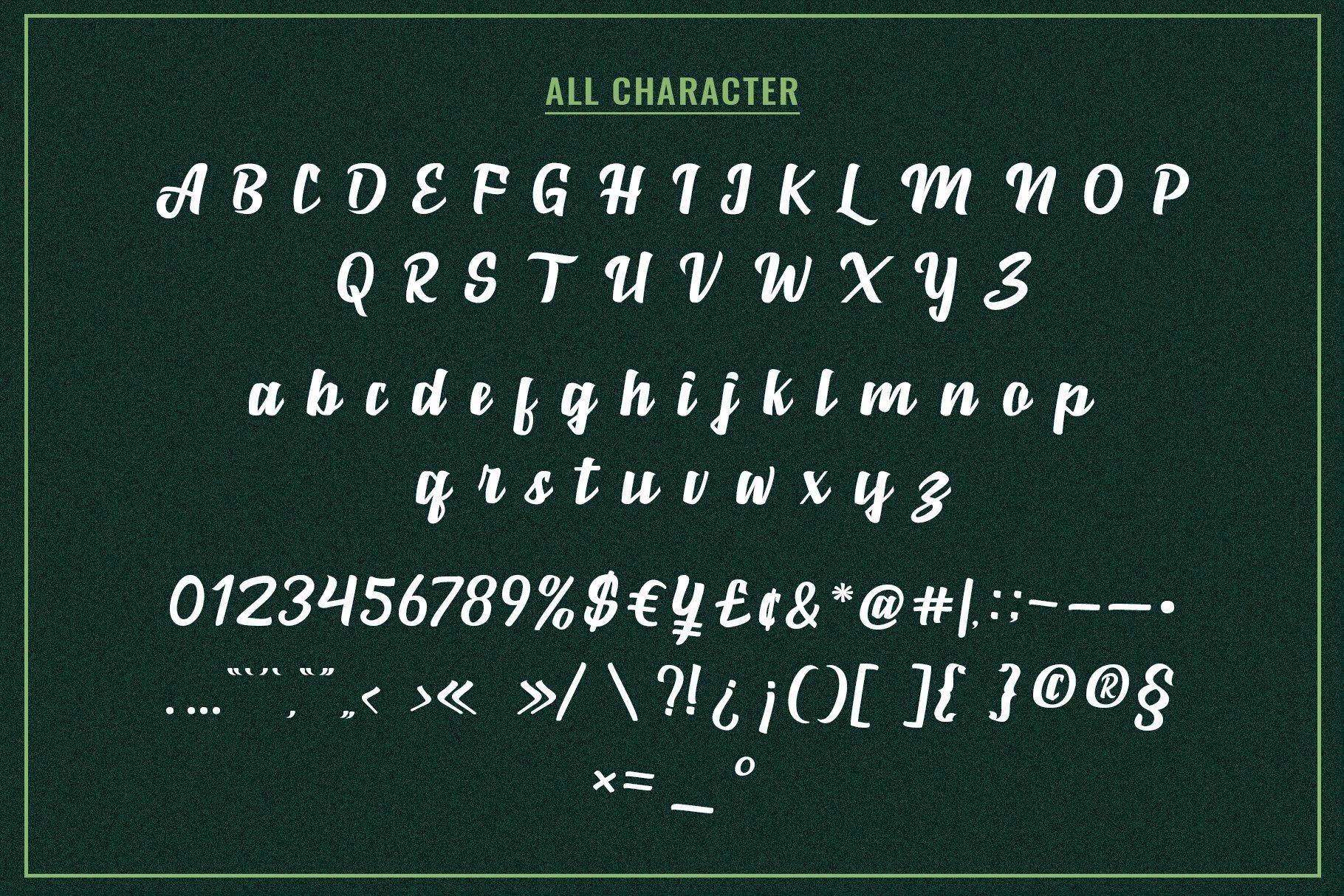 Marborn Bold Script Typeface-3