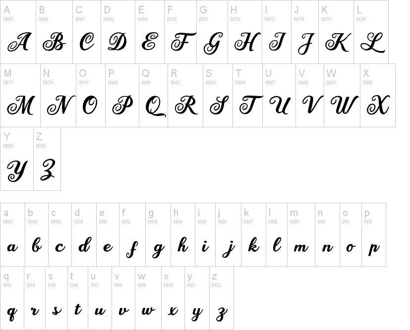 Mariane Lusia Script Font-2