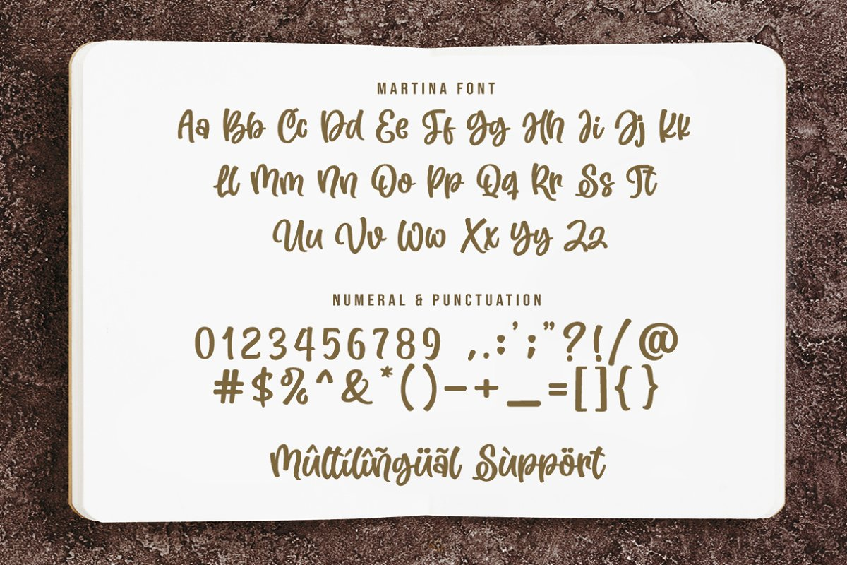 Martina Cute and Lovely Font-3