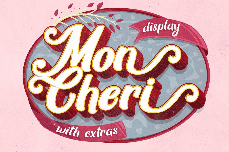 Mon Cheri Script Typeface-1