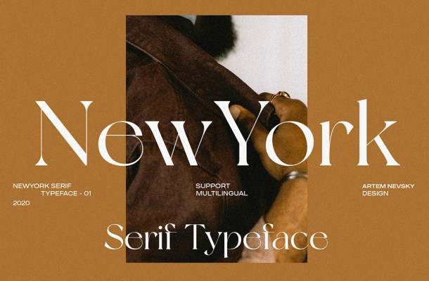 New York Typeface