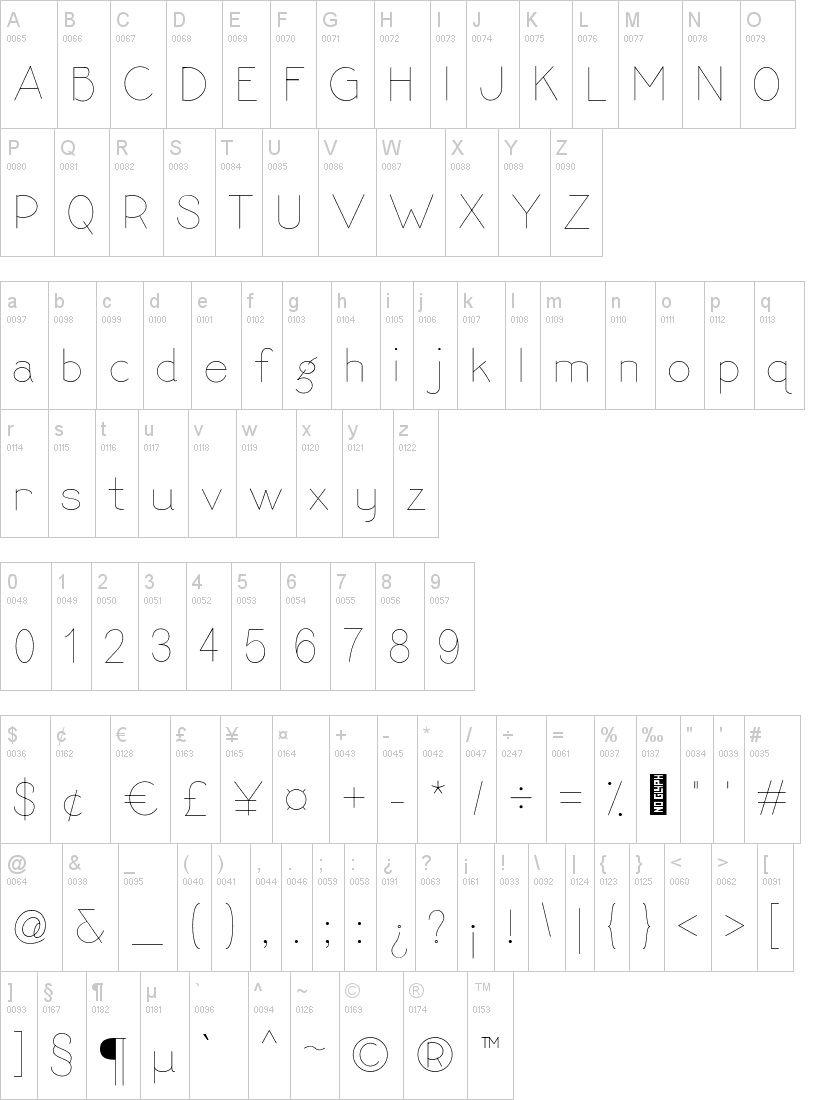 Ngosngos Sans serif Font-2