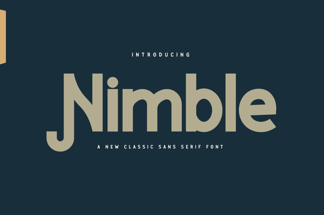 Nimble ClassicSans SerifFont-1