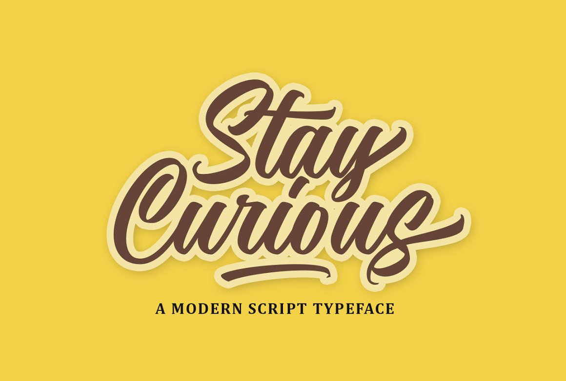 Nostalgic Script Brush Font-2