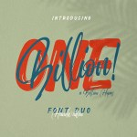 Onebillion Font Duo