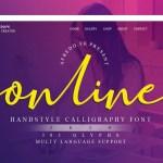 Online Font
