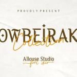 Owbeirak Collection Font Duo