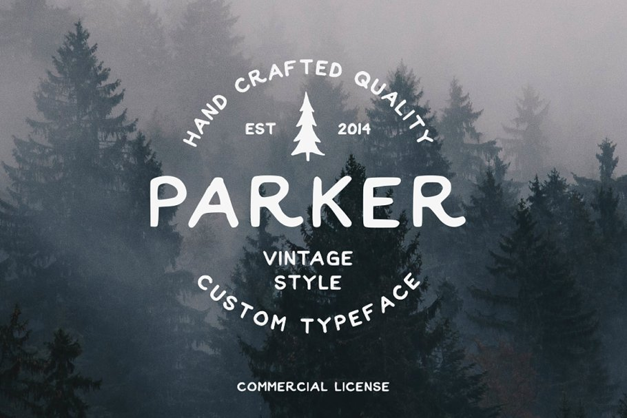 Parker Display Font-1