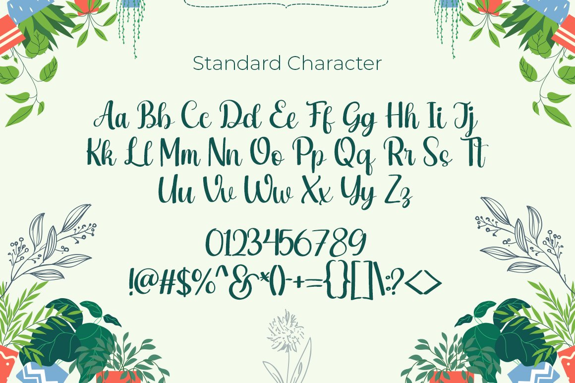 Rashida Garden Script Calligraphy Font-3