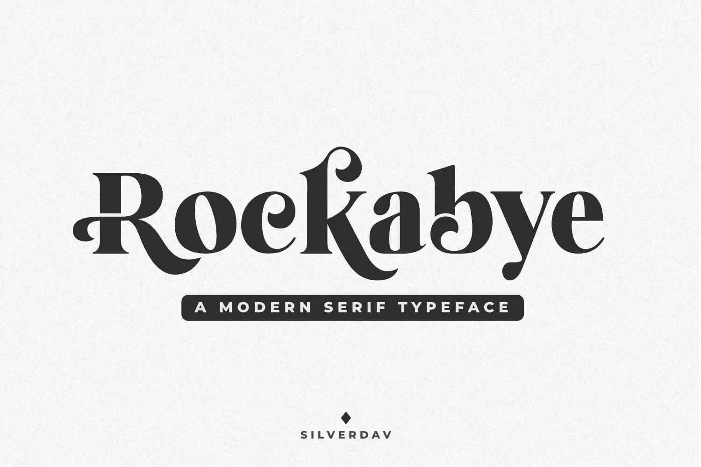 Rockabye Modern Serif Typeface-1