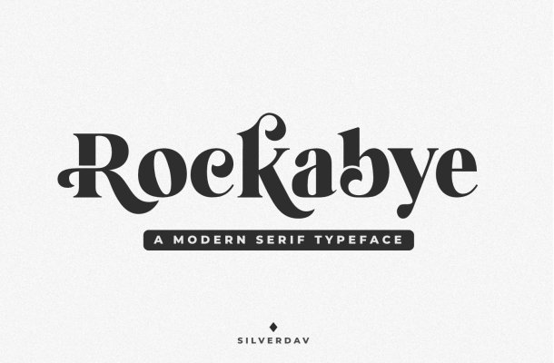 Rockabye Typeface