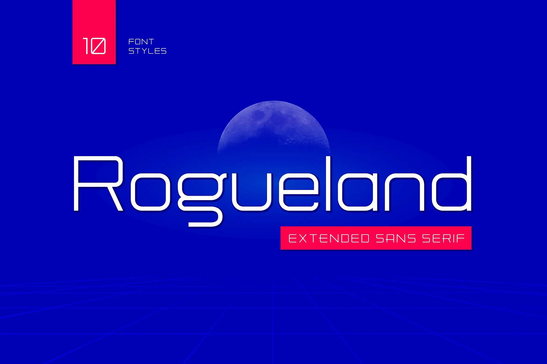 Rogueland Sans Serif Font-1