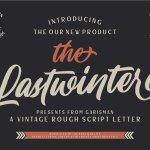 The Lastwinter Vintage Script Font