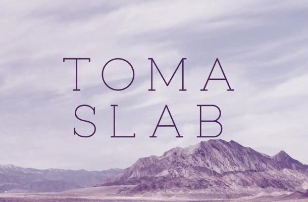 Toma Slab Serif Typeface