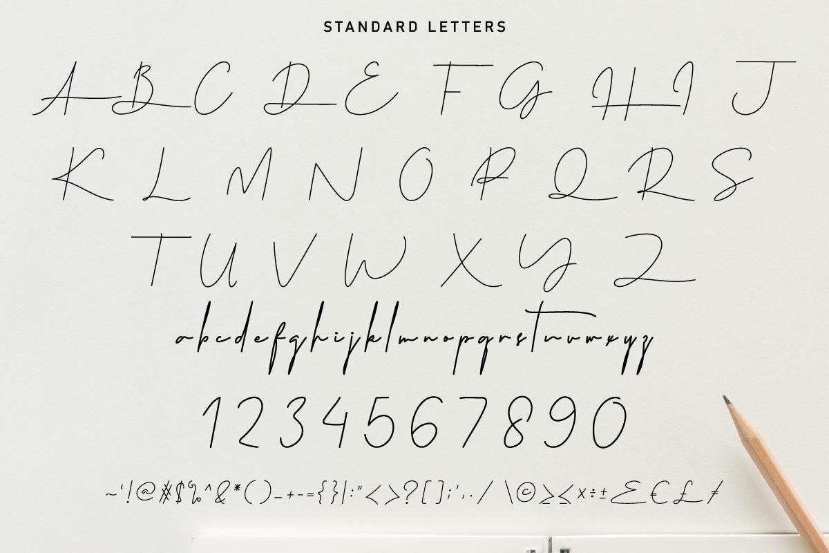 Westerners Handwriting Script Font-3