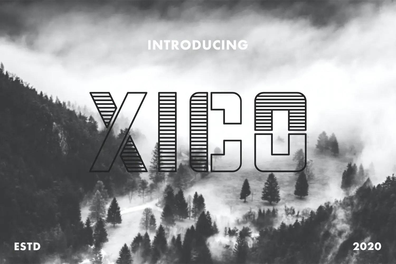 Xico Display Font-1
