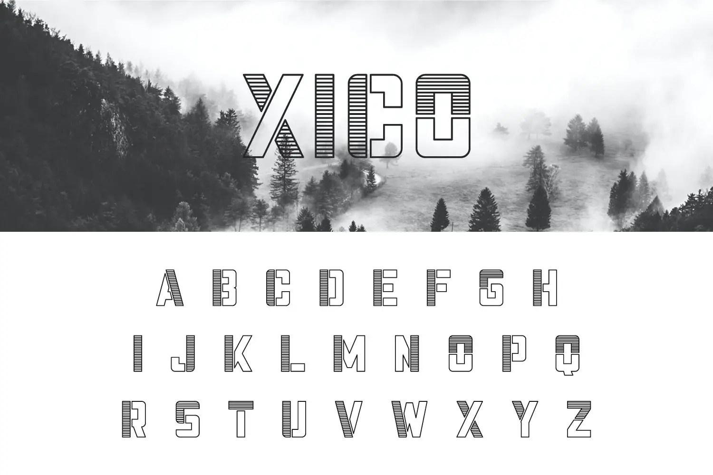 Xico Display Font-2