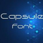 Capsule Font