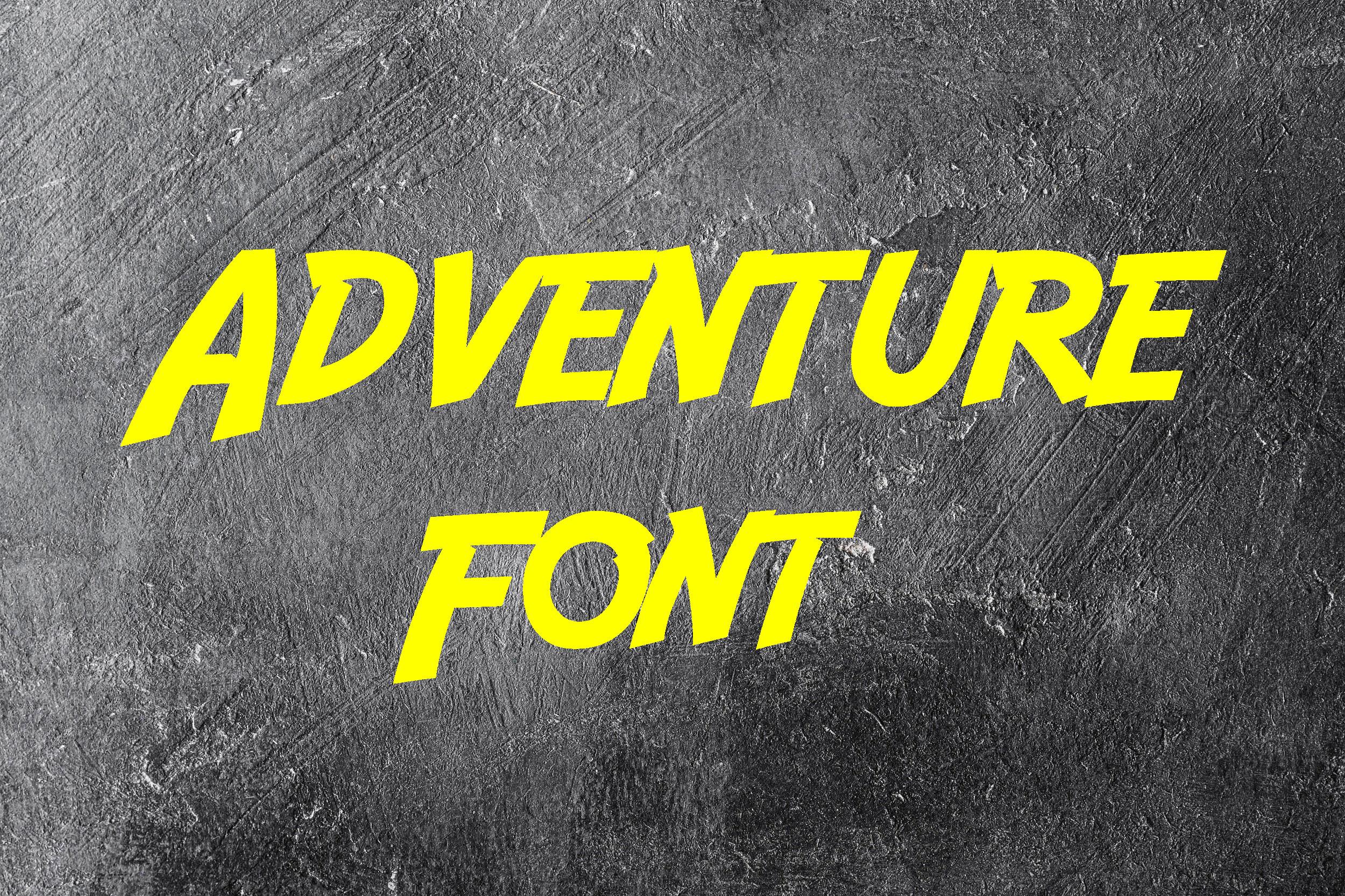 Adventure Fancy Font-1