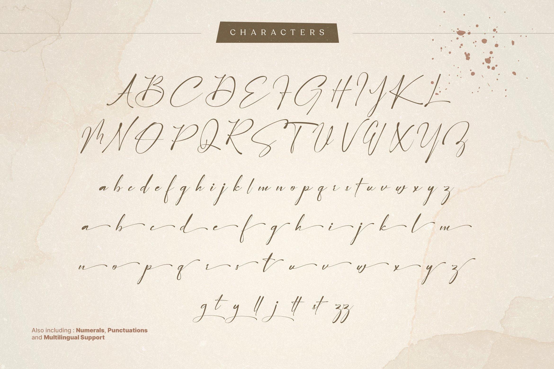 Arinttika Signature Script Handwritten Font -3